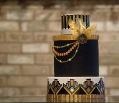 Great Gatsby Art Deco - Cake by Princess of Persia