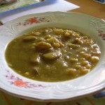 Un delizioso passato di verdure: Crema di mais, zucchini e peperoni