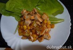 Fotorecept: Kuracie soté so zeleninou My Cookbook, Cabbage, Healthy Recipes, Healthy Food, Chicken, Meat, Vegetables, Red Peppers, Health Foods