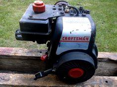 Craftsman edger trimmer gas 3 5 hp briggs stratton for Craftsman 17 5 hp motor