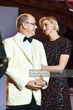 His Serene Highness Prince Albert II of Monaco and Her Serene Highness Princess Charlene of Monaco attend the 2015 Princess Grace Awards Gala With Presenting Sponsor Christian Dior Couture at Monaco Palace on September 5, 2015 in Monte-Carlo, Monaco.  (Photo by Pascal Le Segretain/Getty Images for Princess Grace Foundation-USA)