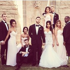 Black Tie Wedding