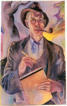 e.e. cummings, 1939   Self-Portrait