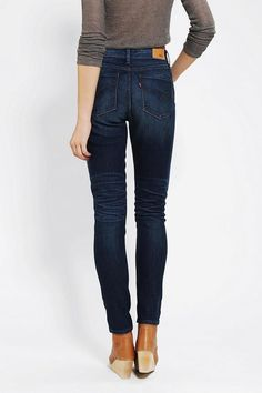 High-rise, stretchy skinny jean from Levi's.