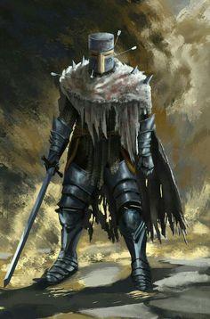 Heide knight (Dark souls fan art) by Guy-Mandude on DeviantArt Dark Fantasy, Fantasy Armor, Medieval Fantasy, Dark Souls 3, Art Clipart, Fantasy Character Design, Character Art, Ornstein Dark Souls, Rpg Cyberpunk