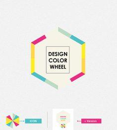 Design Color Wheel Logo