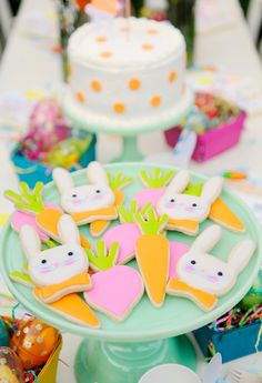 Project Nursery - Iced Sugar Cookies for Easter