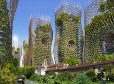Belgische architect ontwerpt het prachtige Parijs van de toekomst