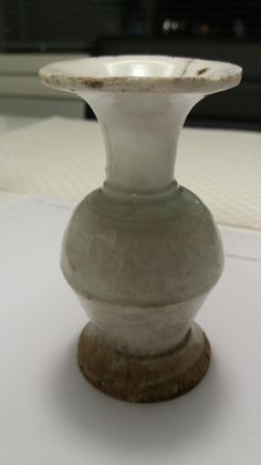 Song Dynasty, Qingbai hand made miniature vase, Fujian Dehua...translucent ceramic