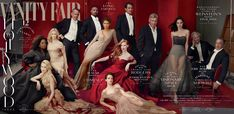 Vanity Fair's Hollywood issue with historic cover shot by Annie Leibovitz. Extra limbs? Superb.