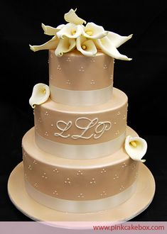 Champagne color Fondant