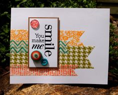 Cards Using Washi Tape | tape take2 just had to make another card using my hand made washi tape ...
