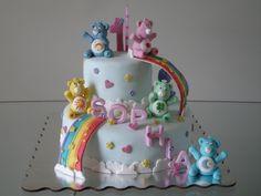 care bears birthday cake designs - Google Search
