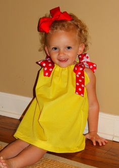Seamingly Smitten: Easy Pillowcase Dress sewing pattern - pattern testers needed