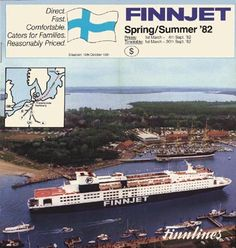 Finnlines Good Old Times, North Africa, Days Out, Finland, Cruise, Nostalgia, Europe, Ocean, Ship