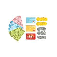 The Le Toy Van Play Money Set brings new possibility into the pretend play realm with nine paper notes, two wooden bank cards, a loyalty card and 17 wooden coins. Toys For Boys, Kids Toys, Play Money, Shops, Vans Kids, Toys Uk, Eco Friendly Toys, Pretend Play, Role Play