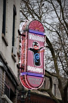 Voodoo Doughnut. One reason why I love Portland.