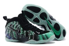 huge selection of ea8a0 2068d Air Foamposite One Black Green Air Foamposite Pro, Discount Sneakers,  Sneakers Nike, New