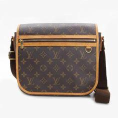 Louis Vuitton Bosphoe PM Monogram Cross body bags Brown Canvas M40106