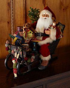 X2 Père Noël Renne SLEIGH Sticker Autocollant Joyeux Noël Festif fenêtre Fun