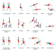 Exercise at Home: A 7 Minute Workout