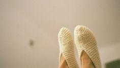 Knitwear slippers THISISPAPER