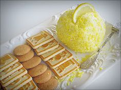 Lemon Drop Cheesecake Ball