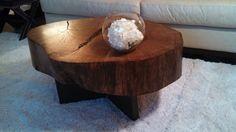 Tree Stump Coffee Table by OrchidInteriorsLLC on Etsy, $1499.00