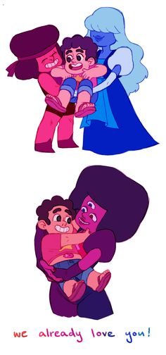 We Already Love You | Garnet & Steven | Steven Universe
