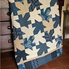 exciting quilts   ... mosaic of spinning leaves with this exciting quilt block design