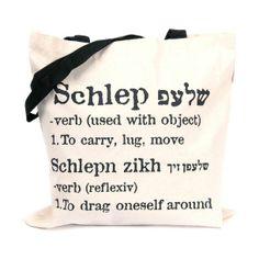 A self descriptive bag.