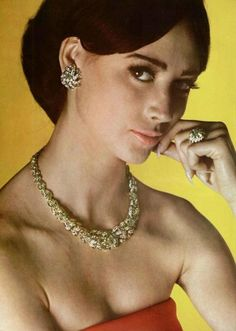 Mauboussin jewelry, L'Officiel June 1963