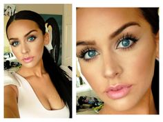 Beautiful Makeup Tutorial – Learn How to Highlight and Contour... This girl's video is step-by-step, very informative and you can actually SEE what her methods do! Plus she's gorgeous! Wish I had known this much about makeup when I was younger!