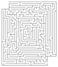 Free Mazes - Harder thank you may think http://www.thinkablepuzzles.com/mazes/maze30.shtml