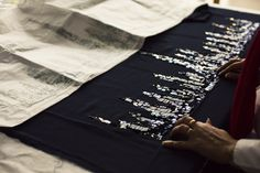 Metiers d'Art Ateliers LESAGE & LEMARIÉ, The Making of Haute Couture | Ann Street Studio