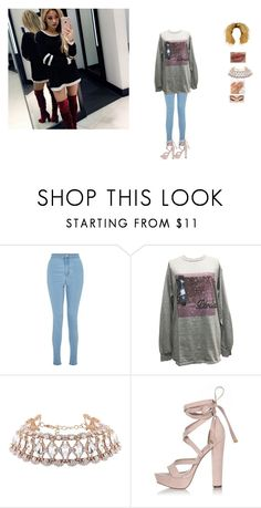 """hanging with Gabi"" by unicorn-923 ❤ liked on Polyvore featuring Miss Selfridge and River Island"