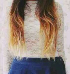 Dipdye hair extensions | 100% Remy human hair | Free worldwide delivery
