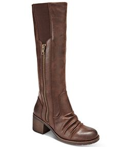 e1bce15c29db Bare Traps Dallia Block-Heel Wide-Calf Boots