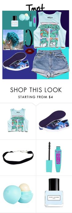 """""""Tmnt!!!!!"""" by dakotawillard ❤ liked on Polyvore featuring Forever 21, Vans, River Island, Marc Jacobs and Lime Crime"""