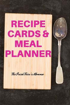 Being a parent is tough and expensive. I have saved money and time by using my recipe cards that have everything on them to make a delicious meal for my family. Also, I am better able to meal plan for the week based on the sales that are occurring at my local grocery store.