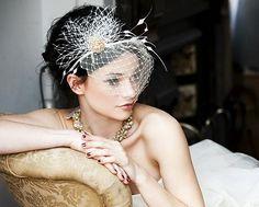fun wedding veil
