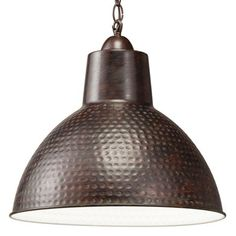 Buy the Kichler 78200 Bronze Direct. Shop for the Kichler 78200 Bronze Missoula Single Light Wide Pendant with Metal Shade and save. Shop Lighting, Pendant Lighting, Ceiling Fixtures, Light Fixtures, Lowes Home Improvements, Drum Shade, Bulb, Bronze, Lights
