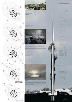 Çamlıca TV Tower - Istanbul, Turkey / Winning Project