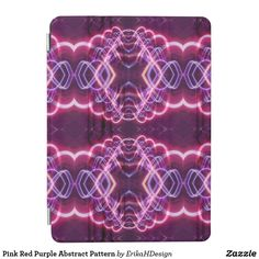 Pink Red Purple Abstract Pattern