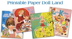 Great site to print out vintage paper dolls for your daughter.... the Betsy McCalls are the best!