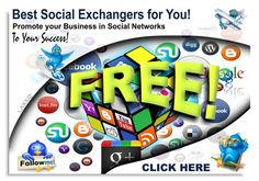 Top List Social Exchanges for you! Only the best and trusted here! All FREE! > http://strongseo.weebly.com