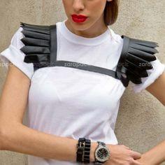 Купить товар Дизайнерский бренд сексуальный панк корсет ремень привязного тела связывание с пером плечо бесплатная доставка в категории Пояса и ремни на AliExpress. Start109526462161012830 Дизайнер Панк кожаный пояс моды Wi Нам $37.13