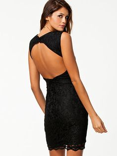 Prime Dress - Nly Trend - Black - Party Dresses - Clothing - Women - Nelly.com Uk