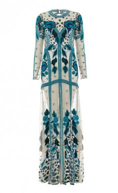 Temperley London Long Flutura Dress