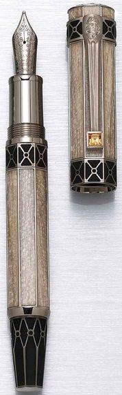 Art Deco Fountain Pen.